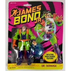 Dr. Derange MOC - James Bond Jr Hasbro 1991