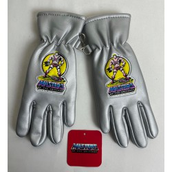 He-man Gloves Silver, size 5 - Masters of the Universe