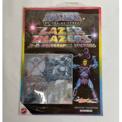 Skeletor Lazer Blazers 3D stickers MIP - Masters of the Universe