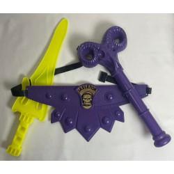 loose Skeletor Weapons Set - Havoc Staff/Belt/Sword HG 80s
