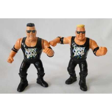 The Nasty Boys - Tag Team WWF Hasbro 1992