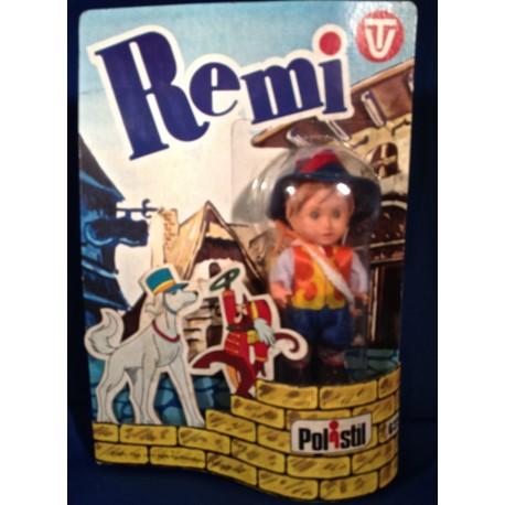 Remi alleen op de wereld