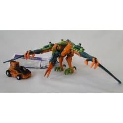 Terrorsaur and Ironhide - Transformers Armada - Hasbro 2003