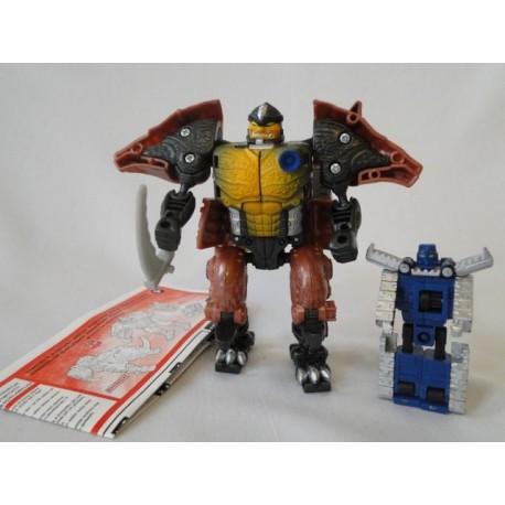 Rhinox and Armorhide - Transformers Armada - Hasbro 2003