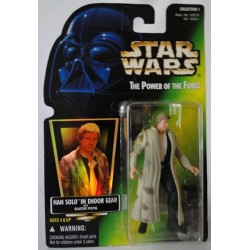 Han Solo In Endor Gear MOC US w/ holographic sticker