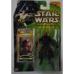 Darth Maul - Final Duel MOC US w/ Jedi Force File
