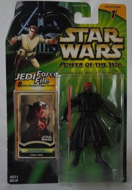 Darth Maul Final Duel Star Wars Power Of The Jedi 2000