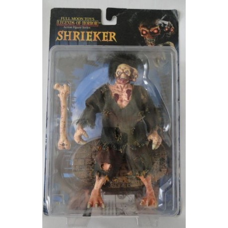 Shrieker, Legends of Horror, Action Figures Series, MOC US. Full Moon Toys 1998. (Action features All four eyes light up)