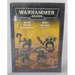 4 Ork Boyz, Warhammer 40,000, MIB. Games Workshop, Citadel 2008.