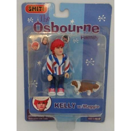 Kelly w/ Maggie, The Osbourne Family. Smiti 2002.