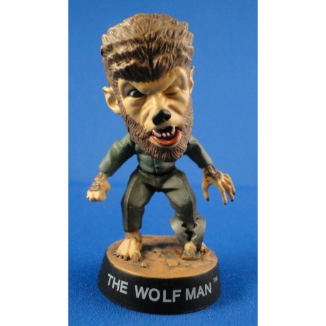 The Wolf Man - Little Big Head figure Loose Universal Studios Monsters SideshowToy