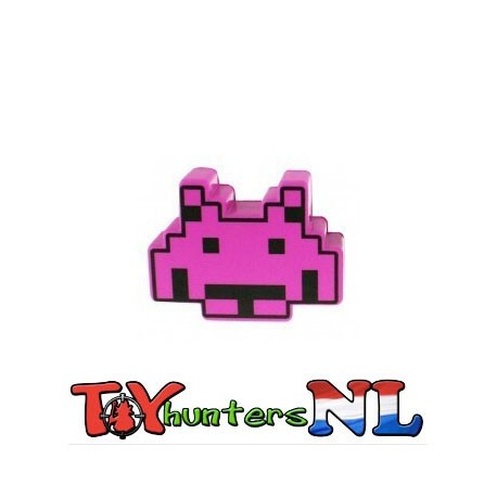 Space Invaders- Stress Ball Pink