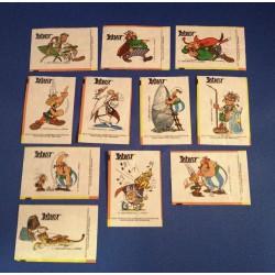 11x Asterix kauwgom plaatjes tatoeages 1999
