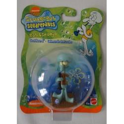 Squidward from SpongeBob with clarinet MOC - Mattel