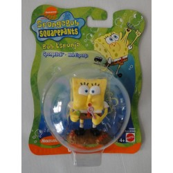 SpongeBob - Bubble Blower figure MOC- Mattel