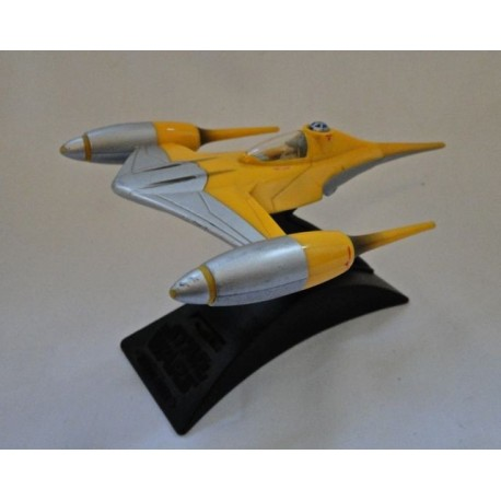 Naboo Star Fighter loose Action Fleet 100% Complete