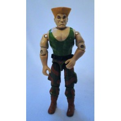 Guile v1 GI Joe 1993 Hasbro Street Fighter 2