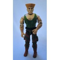 Guile v1 GI Joe 1993 Hasbro Street Fighter 2