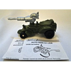 Tank Car GI Joe loose friction vehicle - Hasbro 1988