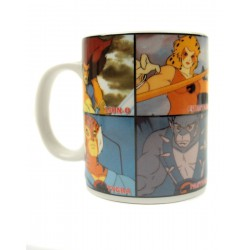 Test Thunder Test Thundercats: Mug Collage Mug