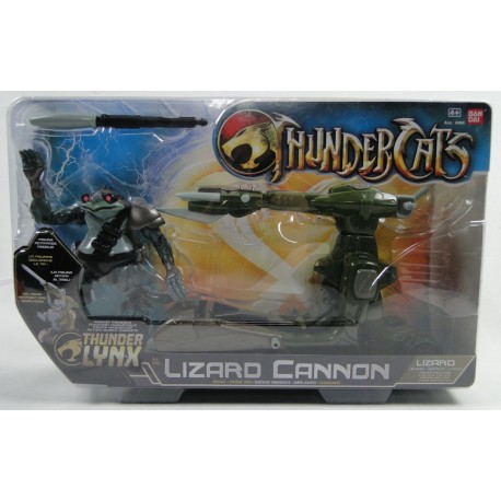 Lizard with Lizard Cannon MIB - New ThunderCats