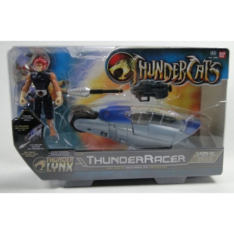 Lion-O with ThunderRacer MIB - New ThunderCats