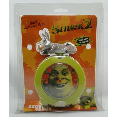 Shrek 2 - Bedside Alarm Clock MIB - Wesco 2004 NEW