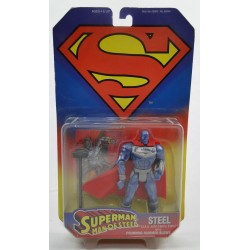 Steel MOC - Superman animated series - Kenner 1995