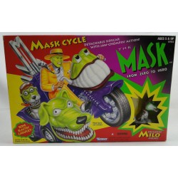 Mask Cycle + Milo MIB - The Mask animated series - Kenner 1996