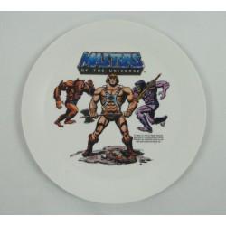 He-man plastic plate - DEKA 1984 Mattel
