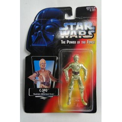 Rare Figure Japanese C-3PO MOC with green tint - Kenner 1995