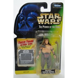 Malakili Rancor Keeper Feeze Frame slide MOC - Power of the Force - Kenner 1997