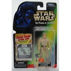 Bespin Luke Skywalker Feeze Frame slide MOC - Power of the Force - Kenner 1997