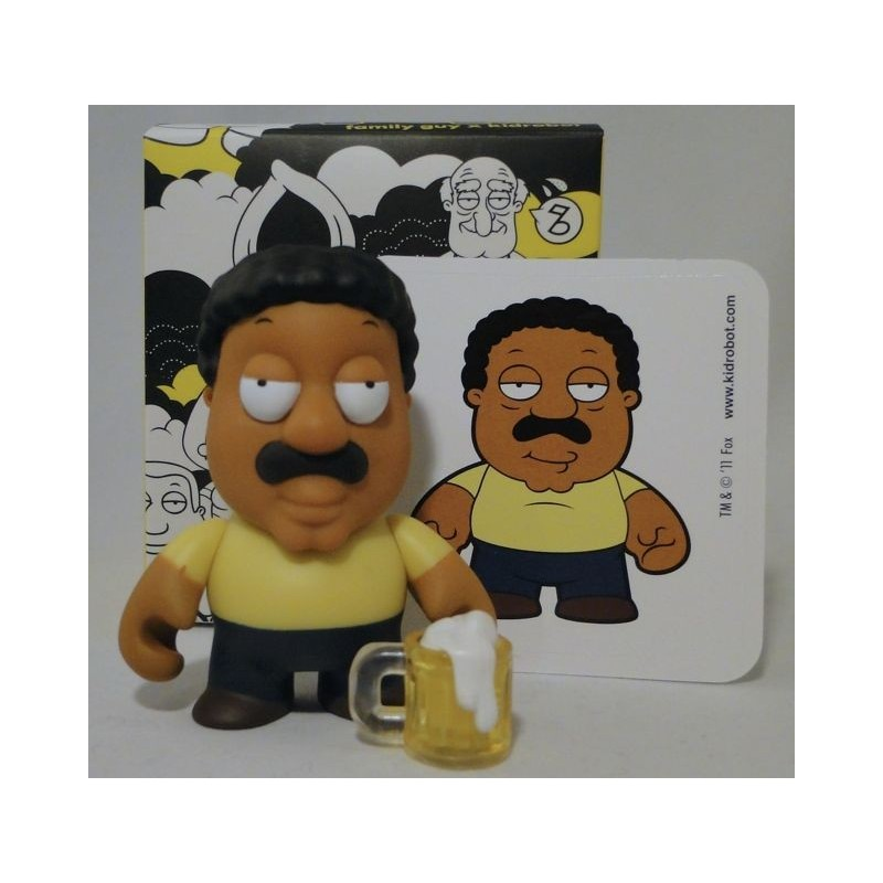 Cleveland Family Guy Toys : Cleveland brown with beer
