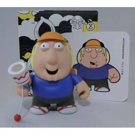 Chris Griffin with Toy