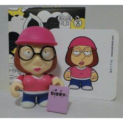 Meg Griffin with Diary