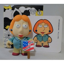 Lois Griffin with Campaign sign