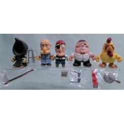 Full complete Set of 15 Family Guy Kidrobot Figures