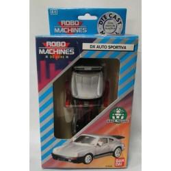 DX Auto Sportiva MIB - Robo Machines Deluxe - BanDai DIE CAST METAL