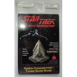 Klingon Communicator Talking Sound Badge MOC - Star Trek