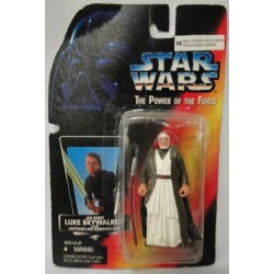 knock-off Obi Wan Kenobi on Luke card POTF Star Wars