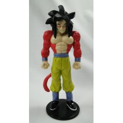 Goku Super Saiyan 4 figure on stand
