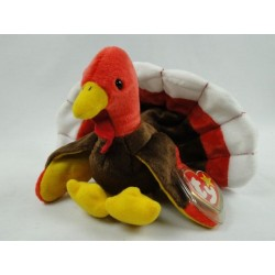 Gobbles the Turkey - TY Beanie Baby original 1996