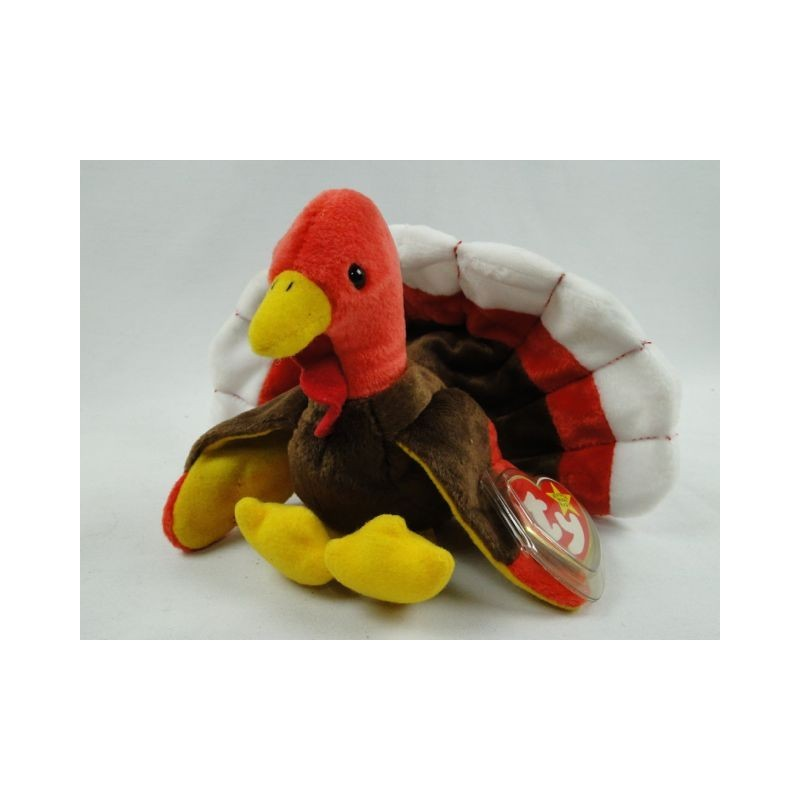 e0b96bb1ac2 Gobbles the Turkey - TY Beanie Baby original 1996