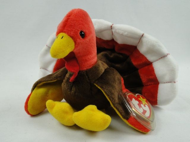gobbles-the-turkey-ty-beanie-baby-original-1996 a2fe748b2ff