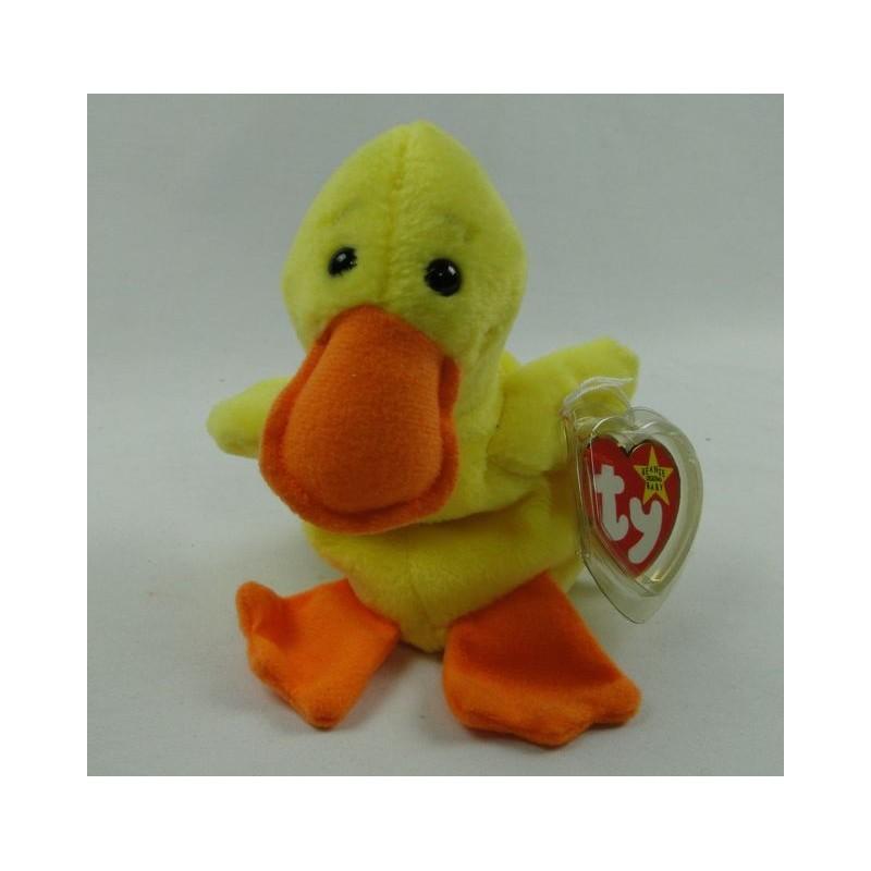 Quackers the Duckling - TY Beanie Baby original 1996 e59b276f2cd