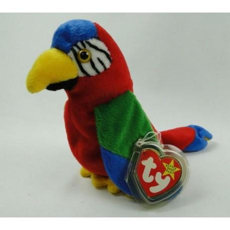 Jabber the Parrot - TY Beanie Baby original 1996