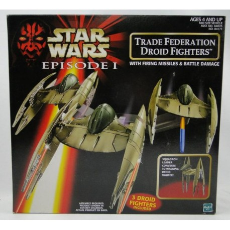 Trade Federation Droid Fighters MIB - Star Wars Episode 1