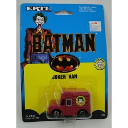 Joker Van ERTL 1989 model car MOC - Batman