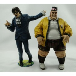 "Austin Powers and FAT Basterd 9"" Deluxe action figures asis"